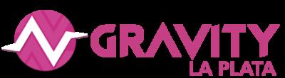 logotipo gravity LA PLATA